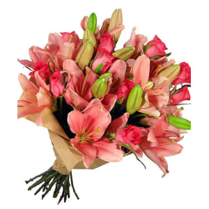 Mother's Day Lilies and Roses