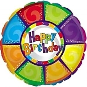 Happy Birthday - colourful