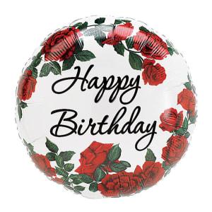 Happy Birthday - Roses
