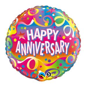 Happy Anniversary Streamers