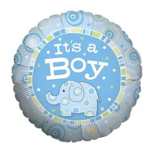 It's a Boy Zoobilee Balloon
