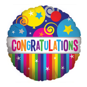 Congratulations - Bright