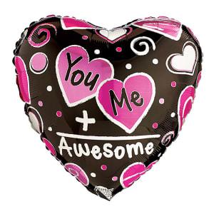 You + Me = Awesome balloon