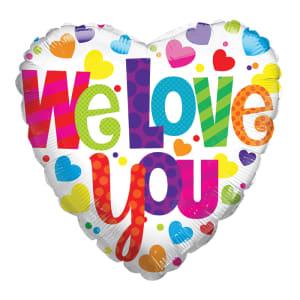 We Love You Balloon