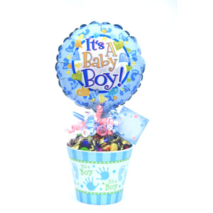 It's A Boy Lolly Pot