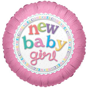 Welcome New Baby Girl