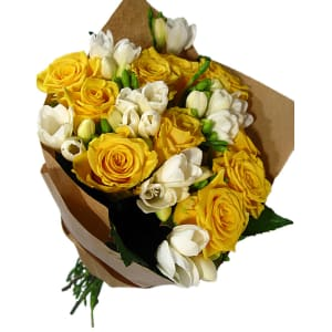 Roses and Freesias