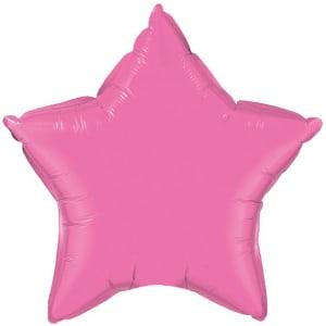 Soft Pink Star Balloon