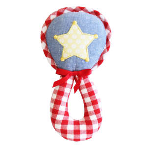 Star Wand Grab Rattle