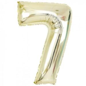 White Gold Foil '7'