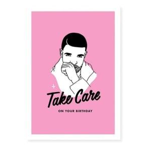 Drizzy Birthday Card