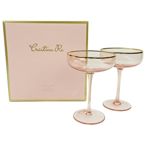 Coupe Crystal Gift Set