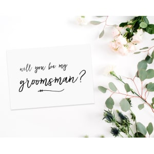 Will You Be My Groomsman