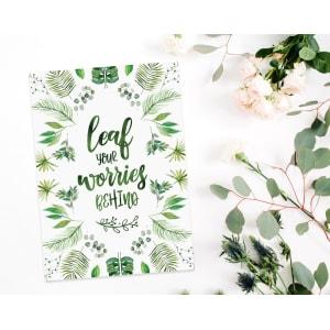 Leaf Your Worries Behind