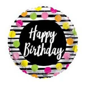 Happy Birthday - Dots
