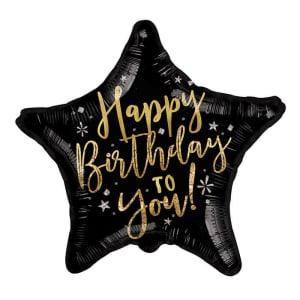 Happy Birthday - Black Star