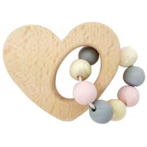 Hess-Spielzeug Heart Rattle