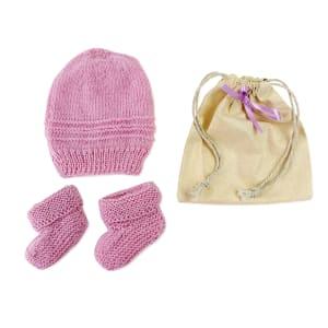 Merino Baby Gift - Lavender