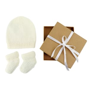 Merino Baby Gift - White
