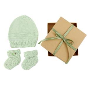 Merino Baby Gift - Green
