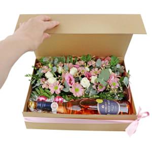Rosé, Lindt & Flowers