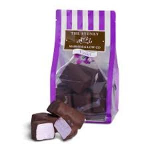 Chocolate Violet Marshmallow