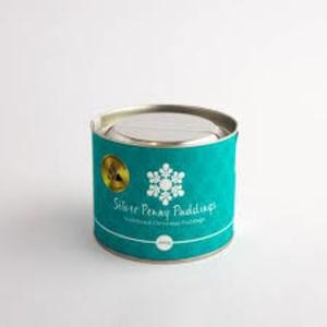 Silver Penny Christmas Pudding