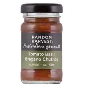 Tomato Basil Oregano Chutney