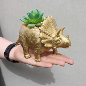 Golden Fossil - Triceratops