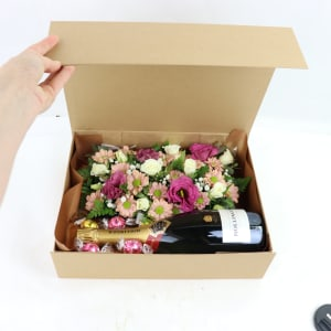 Bollinger Flower Hamper