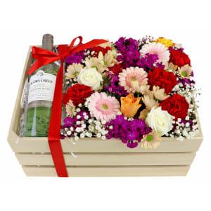 Sauv Blanc Flower Crate