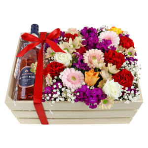 Le Petit Rose Flower Crate
