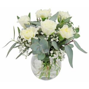 Little Flower Vase - Angelic