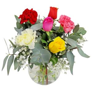 Little Flower Vase - Joyful