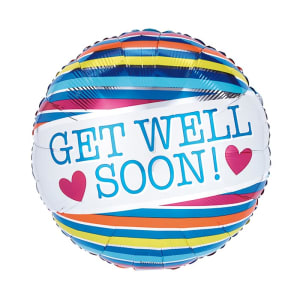 Get Well Soon With Hearts