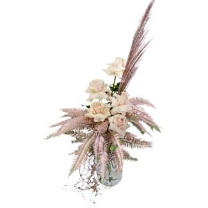 Gilded Rose Vase