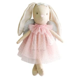 Mini Angel Bunny 27CM Pink