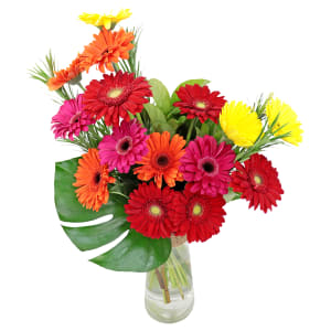 Contemporary Gerbera Vase