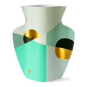 Paper Vase Siena Mint