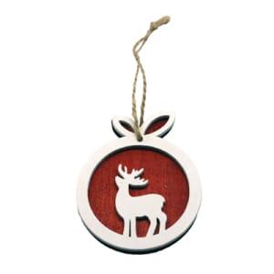 Christmas Reindeer Tag