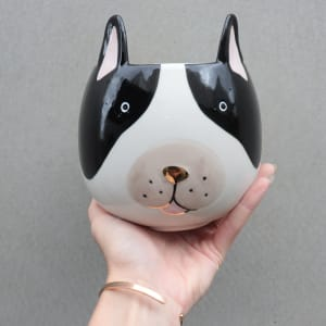 French Bulldog Planter 16cm