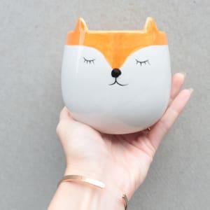Fox Planter 11cm