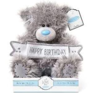 Happy Birthday Banner Bear