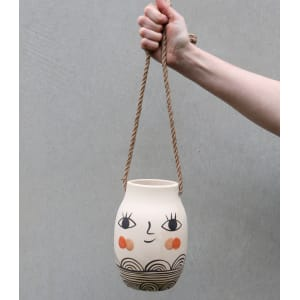 Miss Cozette Hanging Planter