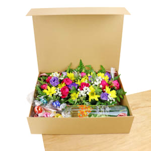 Moscato Flower Hamper