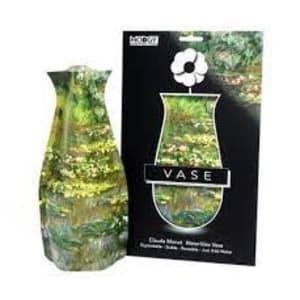 Claude Monet Waterlilies Vase