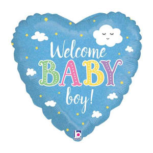 Holographic Welcome Baby Boy