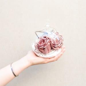 Preserved Rose Gold Orb