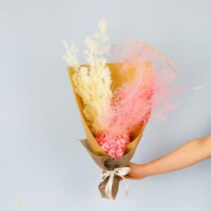 Coconut Ice Dried Flowers