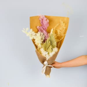 Pastel Hues Dried Flowers